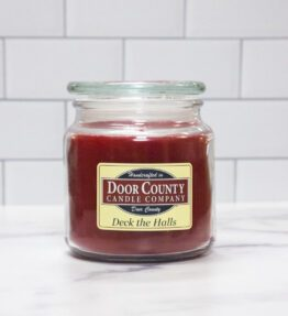 Deck The Halls Candle